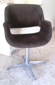 Cadeira Giratoria Compacta Para Sala Estar Ou Computador