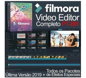 Filmora Editor 2019 Última Versão + Todos Pacotes De Efeitos