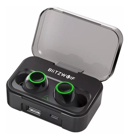 Fone Bluetooth 5.0 Blitzwolf Bw Fye3 Power Bank - No Brasil