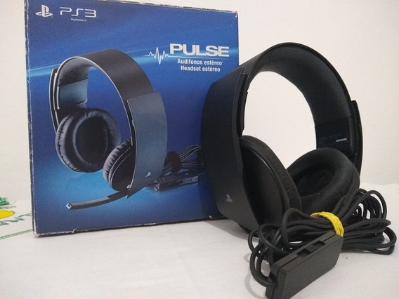 Headset Pulse Ps3- Ps4- Pc