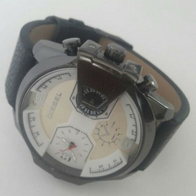 Relógio Masculino Militar Importado Diesel Pulseira Couro