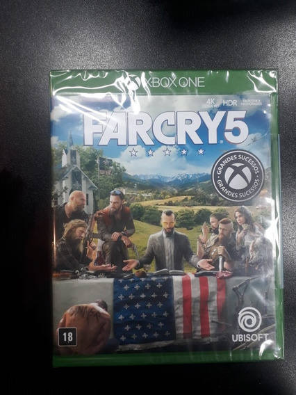 Far Cry 5 Xbox One (frete 18 Reais)
