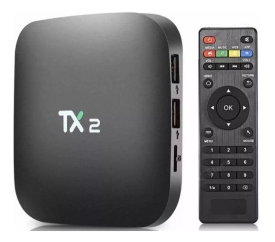 Tx2 Tv Box 16gb 2ram Bluetooth Original Oferta Imperdível