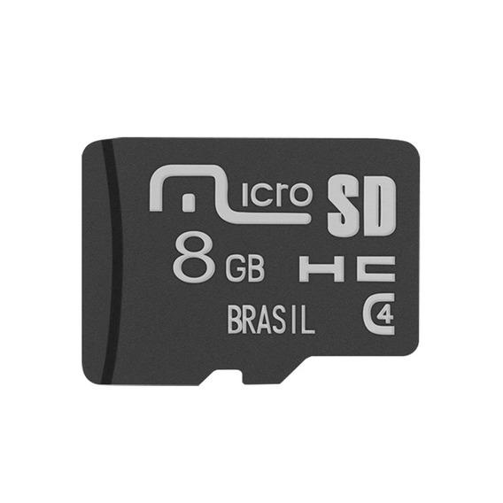 Cartão De Memória Micro Sd 8 Gb Mc141 Multilaser