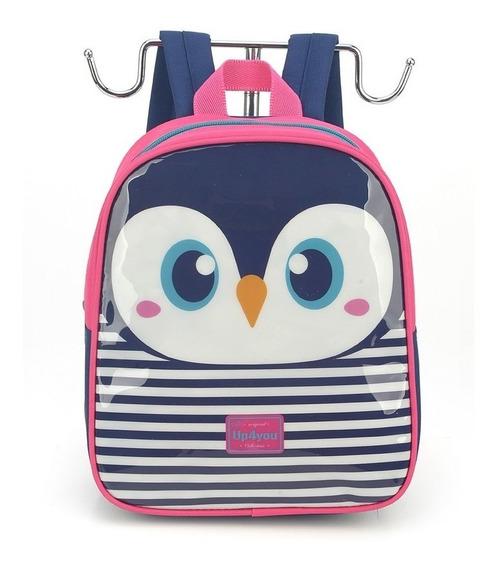 Mochila Petit Up4you Pinguim - Luxcel Is32601up-pk