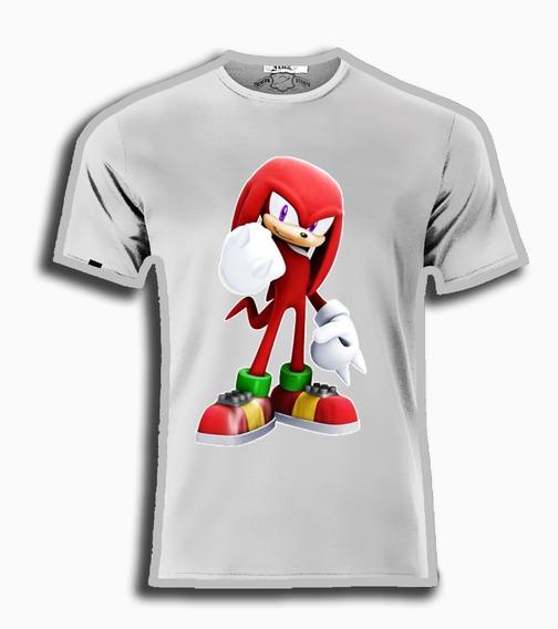 Playeras Sonic The Hedgehog Todos Los Personajes Unisex