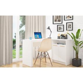 Mesa Escrivaninha Frame Branco