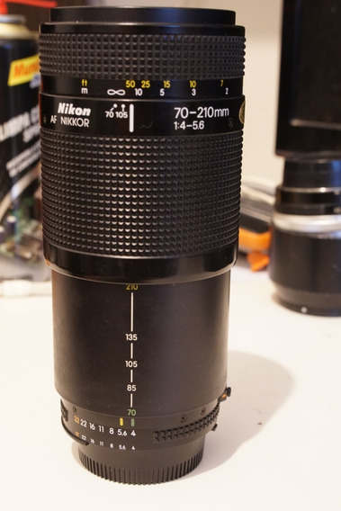 Lente Nikkor Nikon 70-210mm F4-5.6