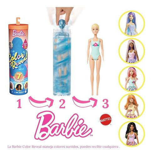 Barbie Color Reveal Clima 7 Sorpresas, Envío Gratis