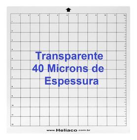 3 Bases De Corte Para Silhouette Cameo 30x30 Com Cola - 40mm