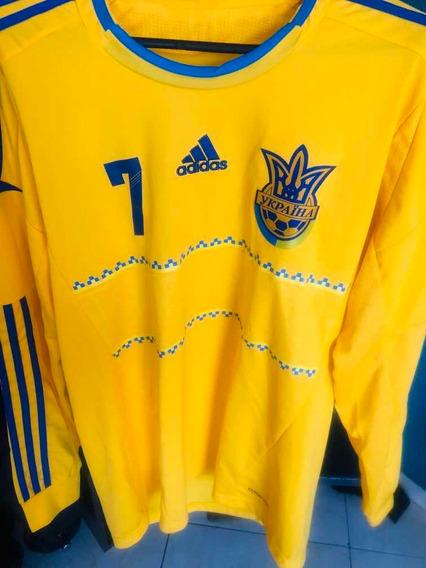 Camisa Da Seleção Da Ucrânia