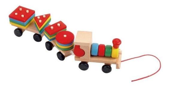 Juguetes Para El Desarrollo Del Bebé De Madera De Camiones D