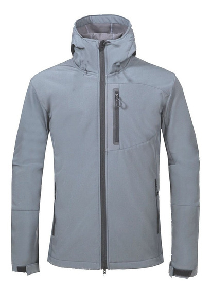 Campera Softshell Tecnico Termico Impermeable - Jeans710