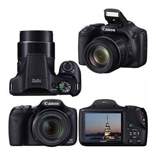 Camara Canon Sx530 16mp 50x Full Hd Con Wifi