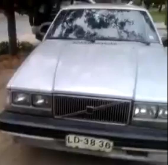 Volvo 740 Gls 2400 Cc 1986 Gris