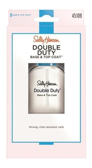 Sally Hansen Base Fortalecedora E Top Coat Double Duty 45109