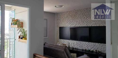 Apartamento Com 1 Dormitório À Venda, 57 M² Por R$ 455.800,00 - Vila Oratório - São Paulo/sp - Ap1393