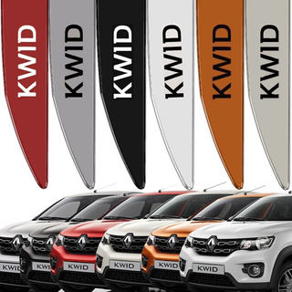 Friso Lateral Kwid Renault 2017 A 2019 Cor=carro