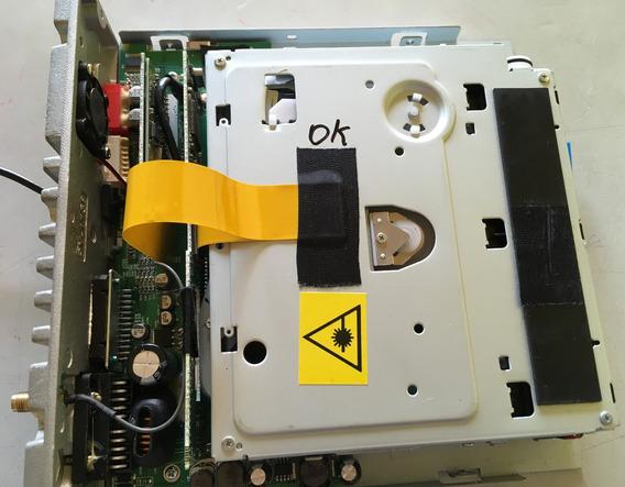 Placa Com Mecânica E Flat Para O Dvd H-buster Hbd-9810av