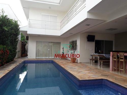 Imagem 1 de 11 de Casa À Venda, 357 M² Por R$ 1.650.000,00 - Residencial Villaggio Iii - Bauru/sp - Ca2804