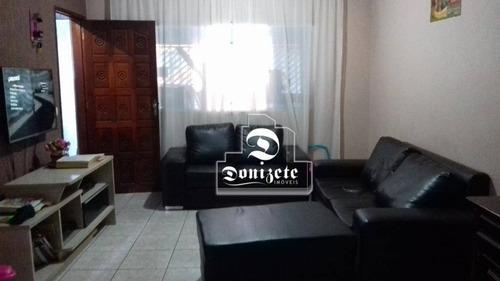 Sobrado À Venda, 265 M² Por R$ 530.000,00 - Parque Marajoara - Santo André/sp - So2576