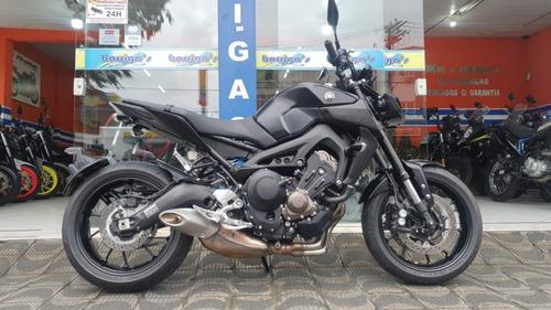 Imagem 1 de 9 de Yamaha Mt 09 Abs 900cc Preta Já Emplacada Garantia Yamaha