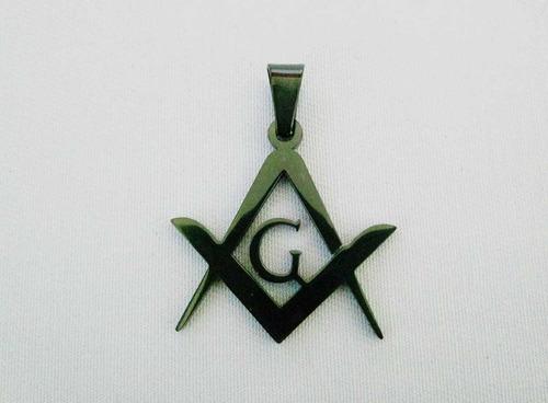 Colgante Masonico Escuadra Y Compás Liso