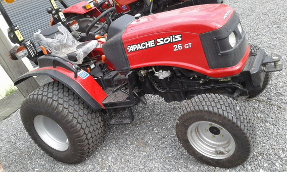 Tractor Apache Solis 26 Gt Parquero