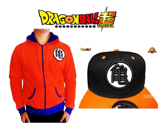 Grande Chamarra L + Gorra Dragon Ball Super Goku