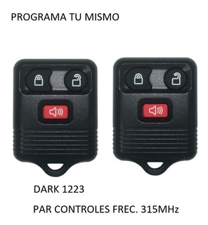 2 Control Remoto Ford Escape 2003 2004 2005 2006 2007
