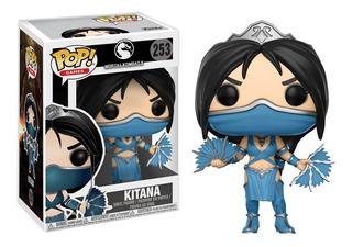 Funko Pop Kitana 253 Mortal Kombat En Caja Nuevo