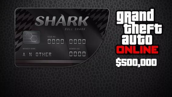 Grand Theft Auto V $500,000 Bull Shark Cash Key Pc Digital