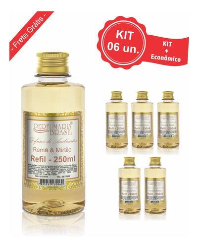 Kit Refil Difusor Premium 250 Ml (6un.)