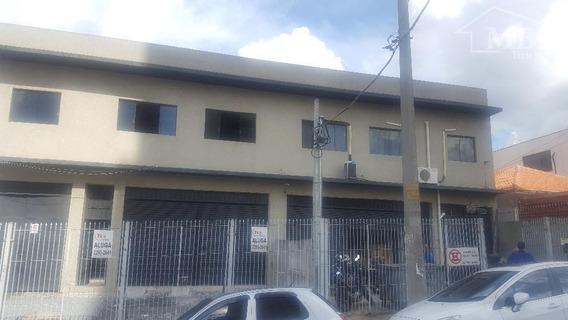 Galpão Comercial Para Locação, Vila Carrão, São Paulo. - Ga0011