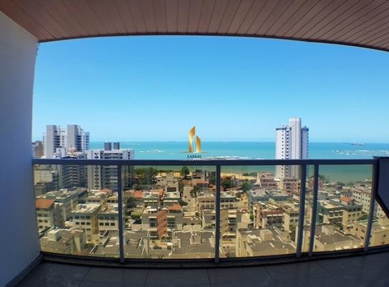 Apartamento 04 Quartos Com Alto Padrão E Vista Para O Mar Em Praia De Itapuã. - 779