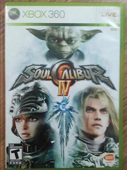 Jogo Soulcalibur Iv-xbox 360 Original Usado