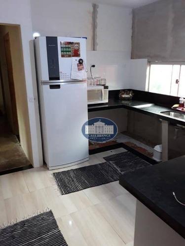 Imagem 1 de 12 de Casa Com 3 Dormitórios À Venda, 170 M² Por R$ 220.000 - Primavera - Araçatuba/sp - Ca1430