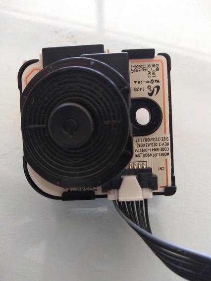 Botão Power Liga Canal Tv Samsung Pn43h4000ag Pf4900_sw