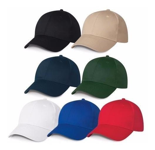 Gorras Acrílicas Unicolor Para Bordar