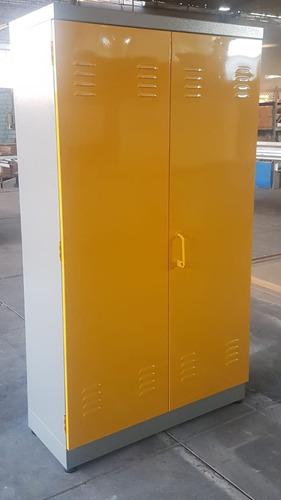 Locker Metalico De 12 Casilleros Con Puerta De Seguridad