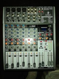Mixer Behringer Xenix X1204 Usb Como Nueva
