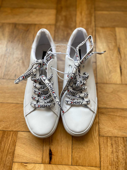 Zapatillas Tommy Hilfiger Blancass Mujer Sneackers