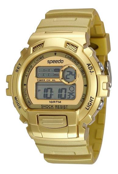 Relógio Speedo Feminino Digital Sport Lifestyle Dourado
