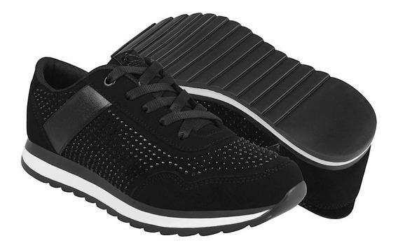 Miss Pink Zapatos Dama Atleticos 152762 23-26 Suede Negro