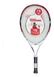 Raqueta Tenis Wilson Niño Federer 12
