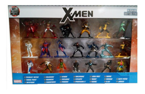 Bonecos Jada Nano Marvel X-men Com 20 Personagens
