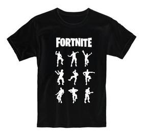 Remera Niño Fortnite Bailes