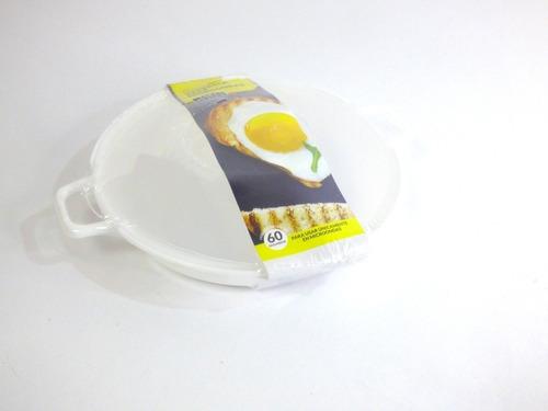 Cacerola Recipiente Huevos Escalfados Ponche Microondas