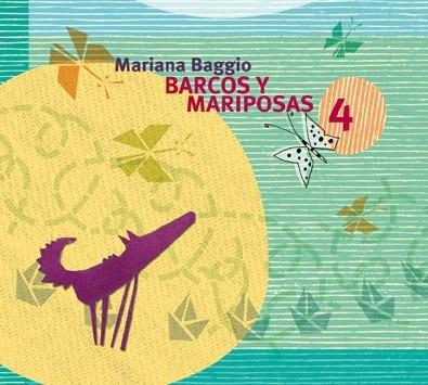 Imagen 1 de 6 de Cd Barcos Y Mariposas 4 Mariana Baggio Local A La Calle
