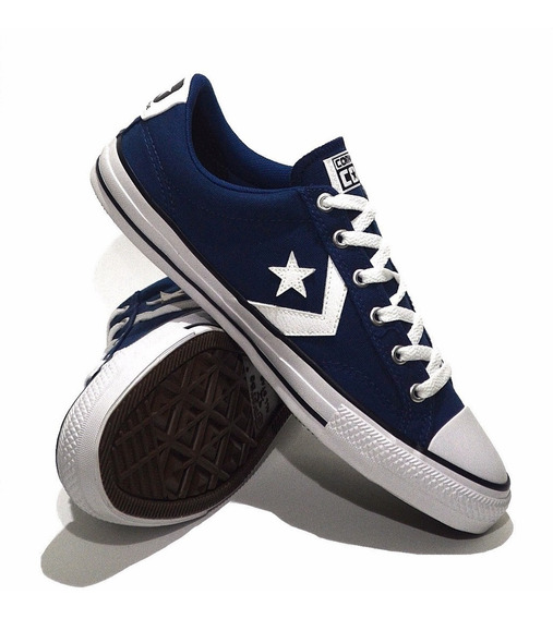 Zapatilla Converse Star Player Ox Azul 157008c